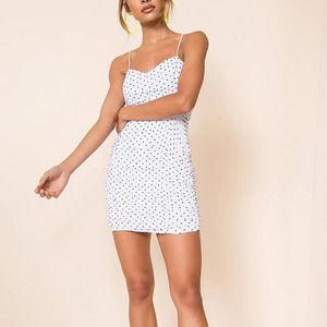 REVOLVE superdown Araya Ruched Mini Dress